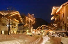 Ruhpolding Ort Winter