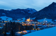 Winterabend Ruhpolding